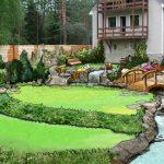 проект садового ландшафтного дизайна