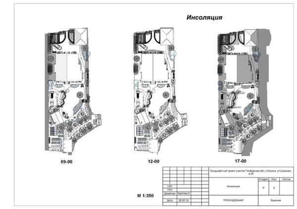ландшафтный дизайн сада в Воронеже